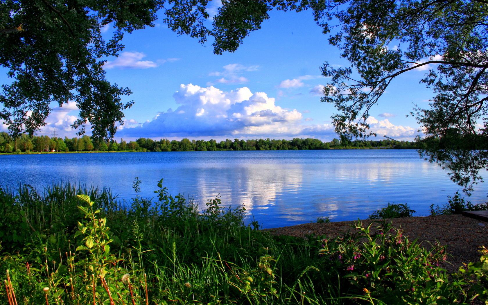 Природа пейзаж реки озера река