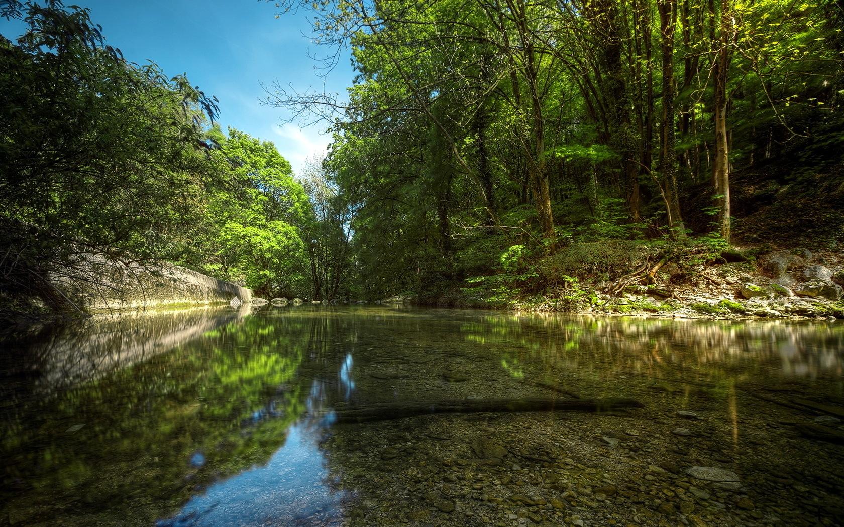 Природа пейзаж реки озера река лес